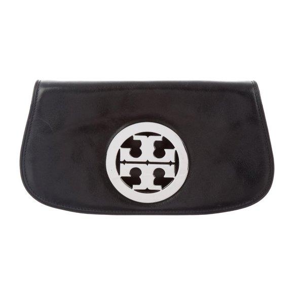TORY BURCH Reva Leather Crossbody Bag